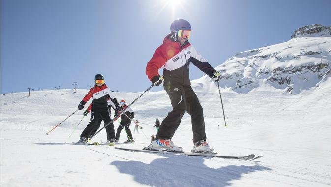 Children's ski courses (from the age of 4) - First Timer