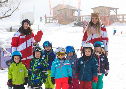 Ski Lessons for Kids (3-14 years) - Beginners