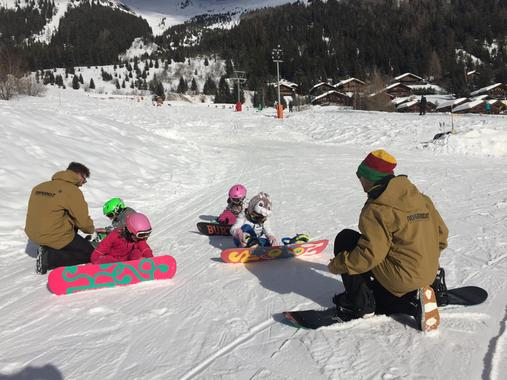 Snowboard Lessons for Kids (5-10 years) - All Levels