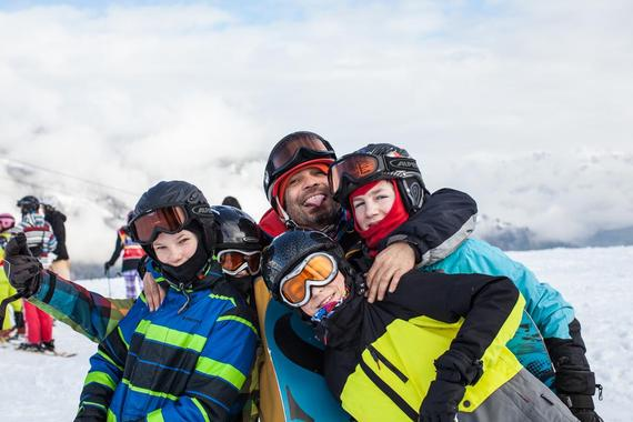 Snowboard Lessons for Kids - Advanced