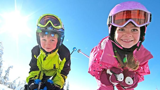 Ski adventure for kids at all ages