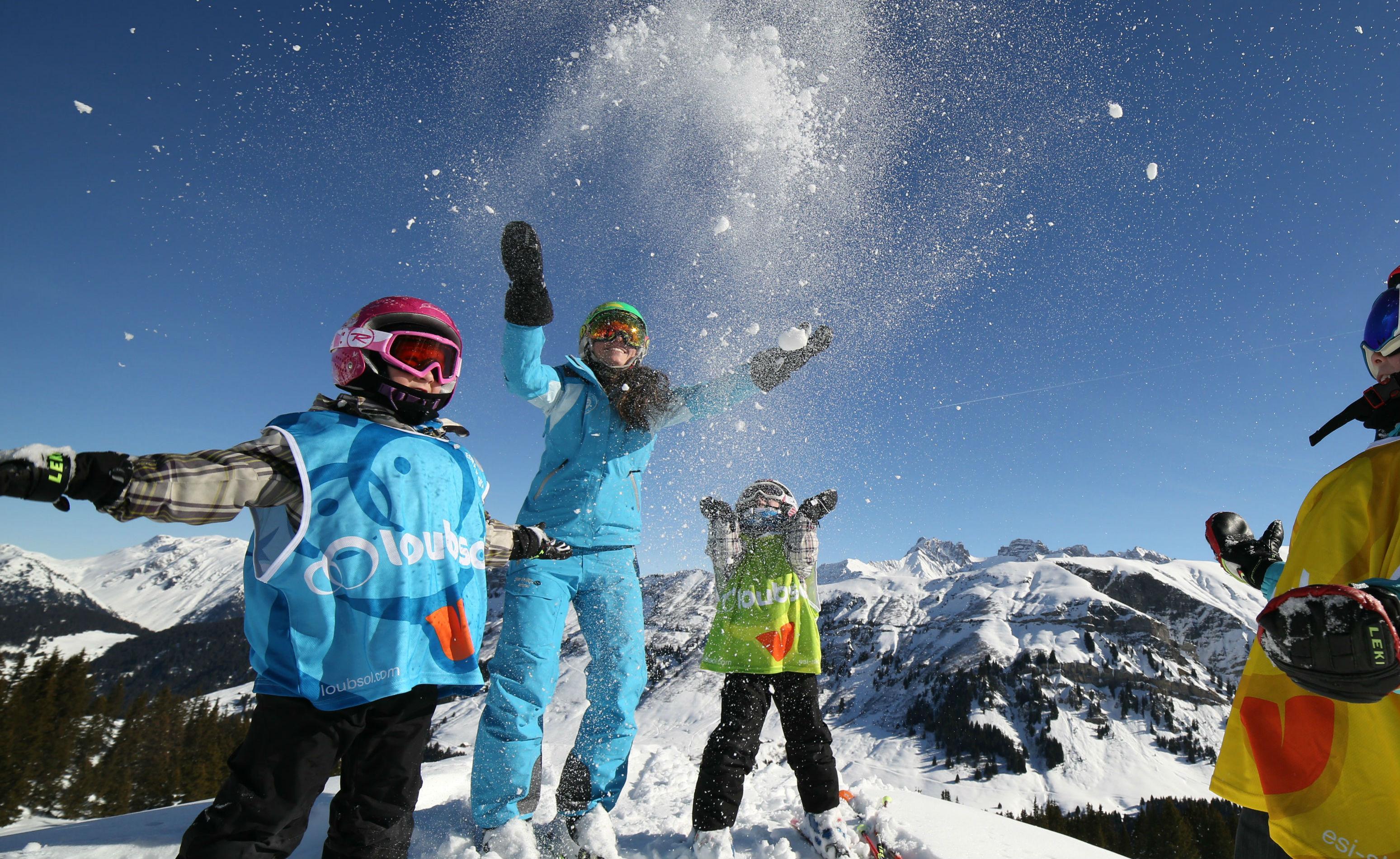 Ski Lessons for Kids (6-13 years) - High Season - Advanced