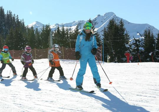 Ski Lessons ?Kid?s Garden? (4-6 years) - All Levels
