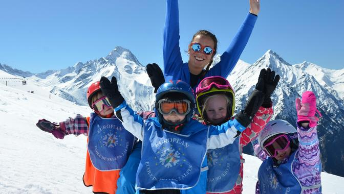 Ski Lessons for Kids (4-5 years) - Morning - Beginner