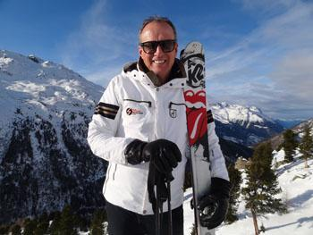 Skiing tuition with Markus