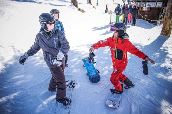 Snowboard Instructor Private for Adults - low season