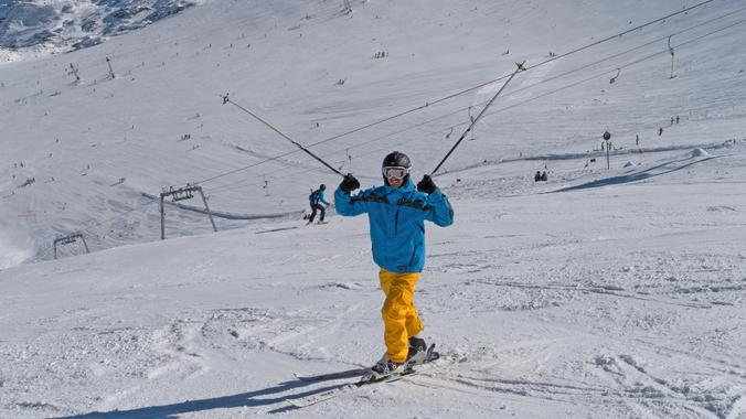 Private skiing lessons for all experience levels