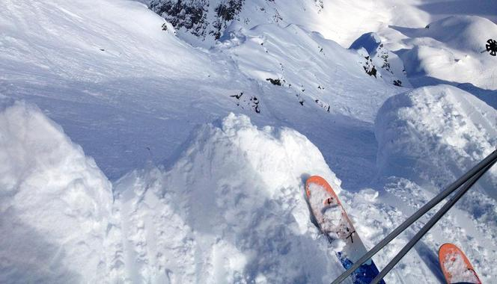 Freeriding and fresh powder snow