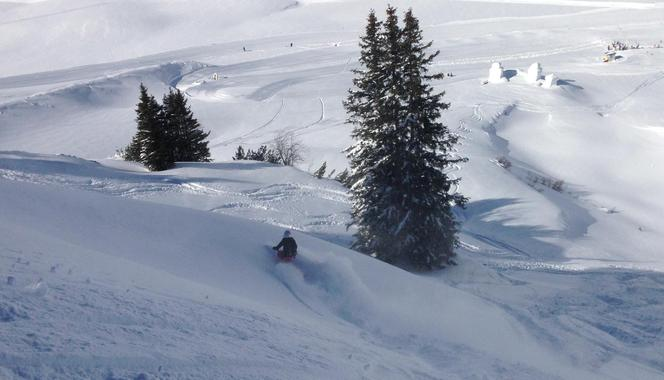 Off-Piste skiing with Marlen