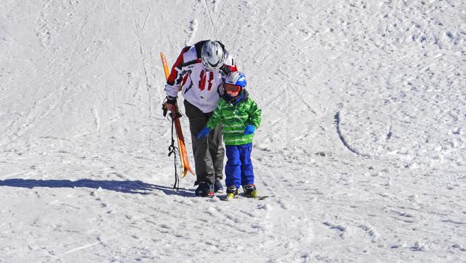 Skiing Lessons for Kids of any Age
