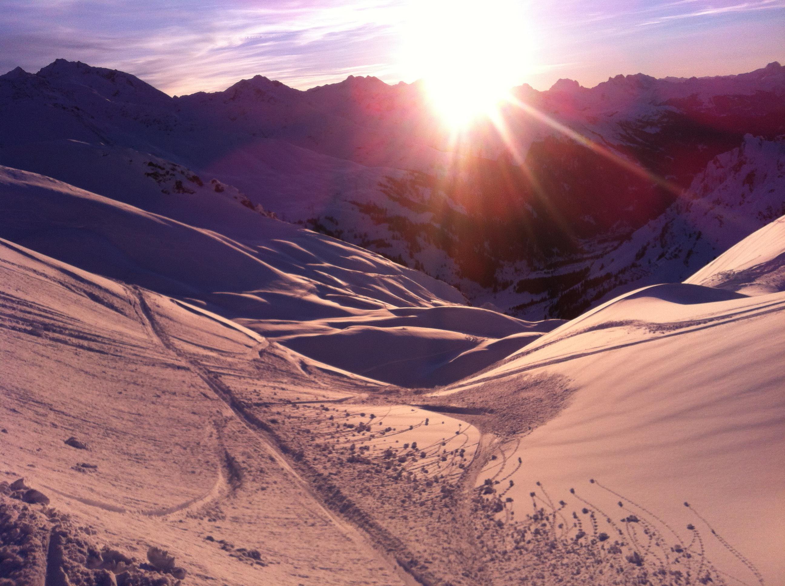 Ski tour in Davos - Klosters with Thomas