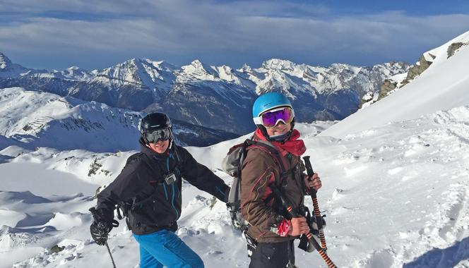 Ski tours for beginners to experts