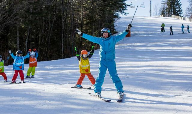 Ski Lessons Kids (4-5 y.) - Afternoon - February Holiday