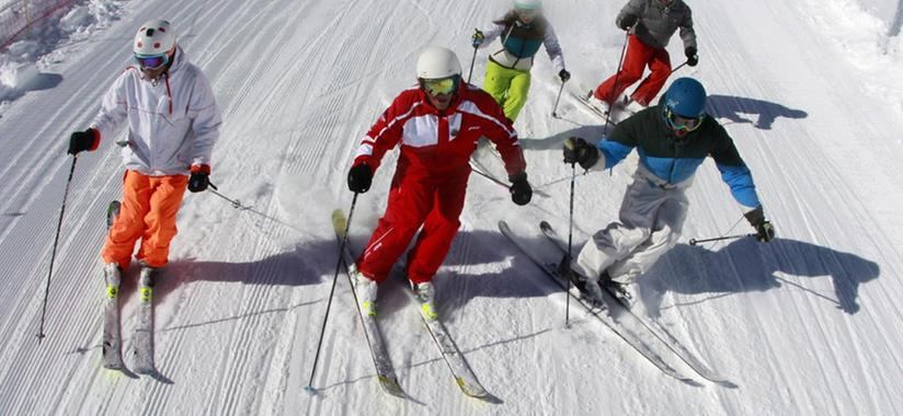 Ski Lessons for Teens & Adults - Morning - Advanced
