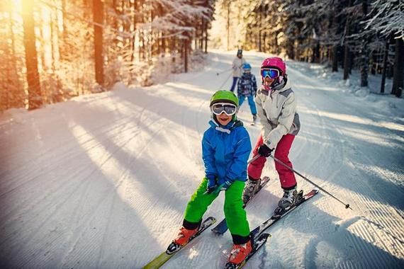 Ski Lessons for Kids (4-7 years) - Kids Special
