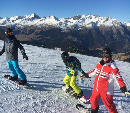 Snowboard Instructor Private in Nauders