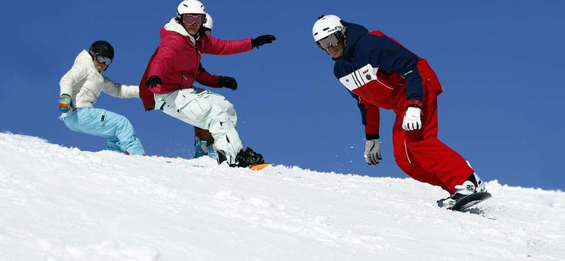 Snowboard Lessons for Kids & Adults - Morning - All Levels