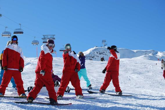 Snowboard Lessons for Kids (4-15 years) - Beginners