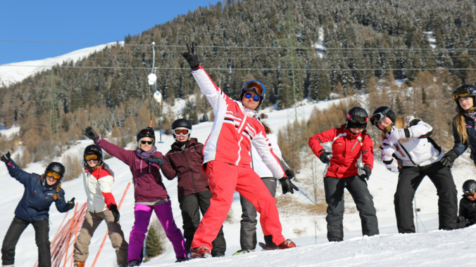 Ski Lessons for Teens (8-16 years) - Advanced