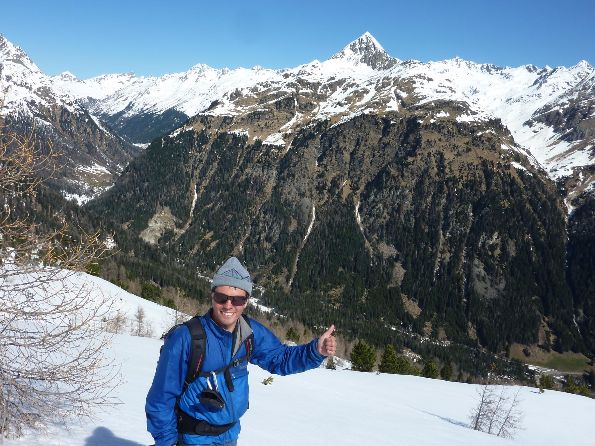 Ski touring with your private guide