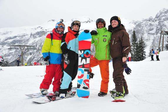 Snowboard Lessons Kids (from 8 y.) & Adults - All Levels