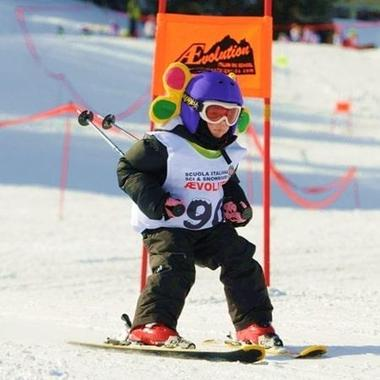 Ski Lessons for Kids (4-13 years) - All Levels