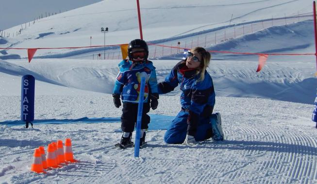 Ski Lessons for Kids (3-14 years) - Half Day - All Levels