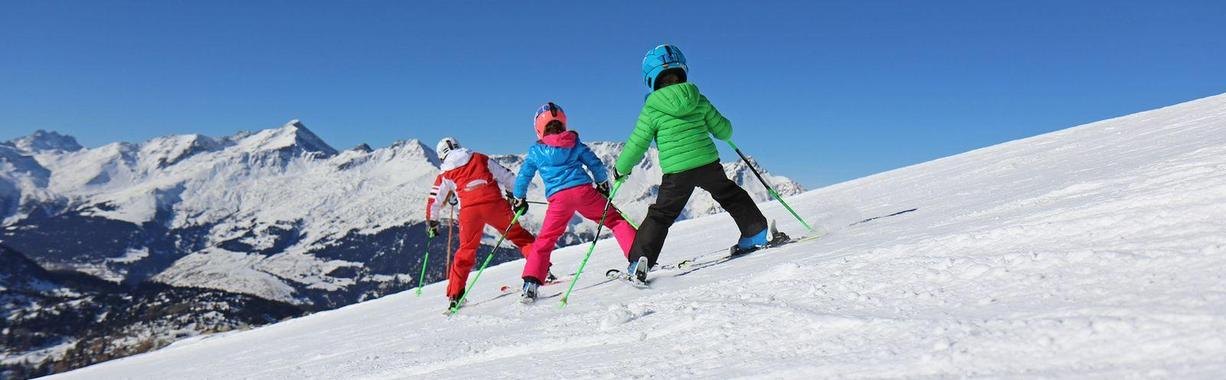 Ski Lessons for Kids (4-7 years) - Advanced