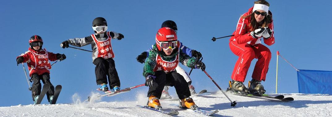 Skiing Lessons  for Kids (5-12 years) - All Levels
