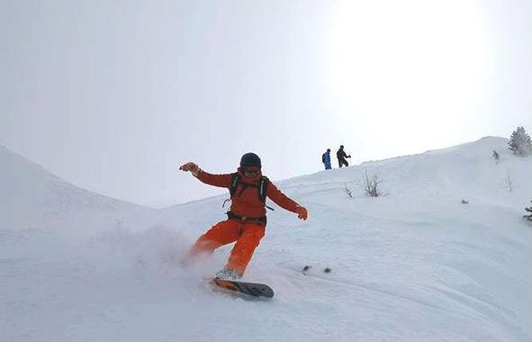 Freeride Snowboard Instructor Private - All Ages & Levels