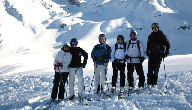 Off-Piste skiing with Hansandrea