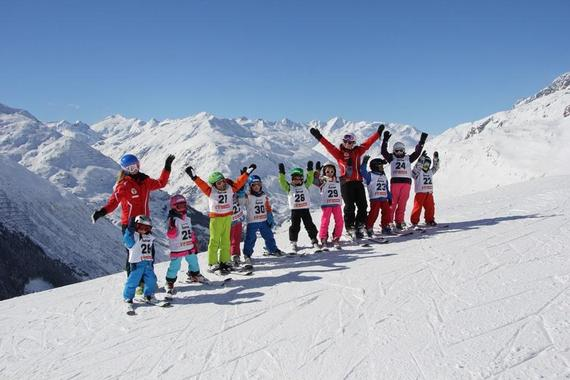 Ski Lessons for Kids (5-15 years) - Full Day - All Levels