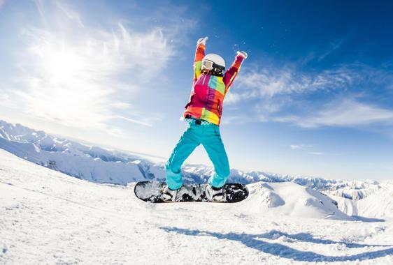 Snowboarding from beginners to pros