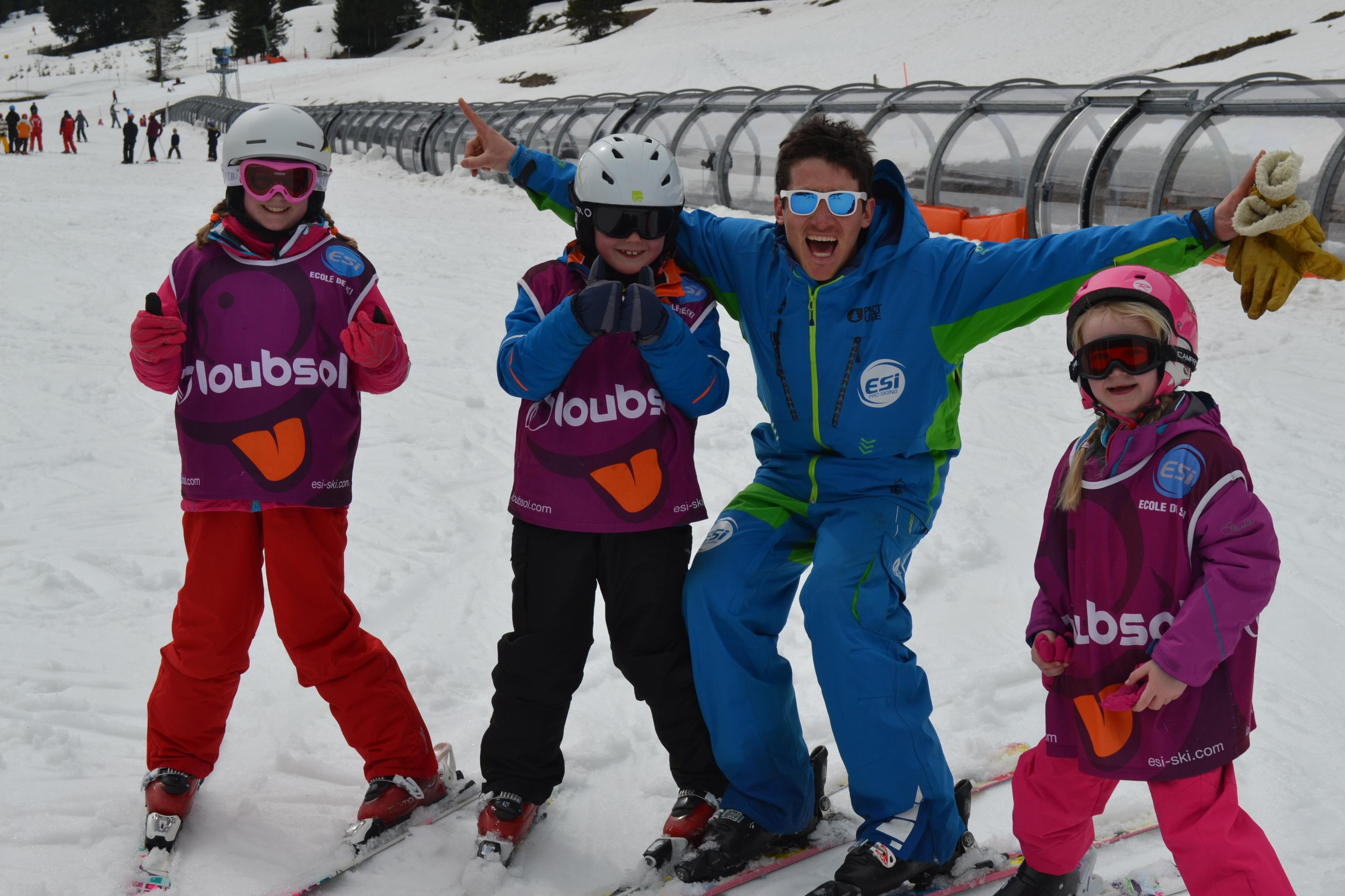 Ski Lessons Kids (4-6 years) - All Levels
