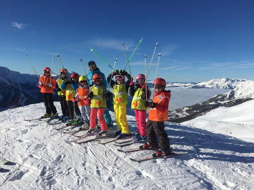 Ski Lessons Kids (6-17 y.) - Afternoon - February Holiday