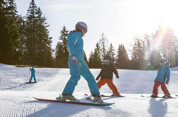 Ski Lessons for Kids (4-5 years) - Morning