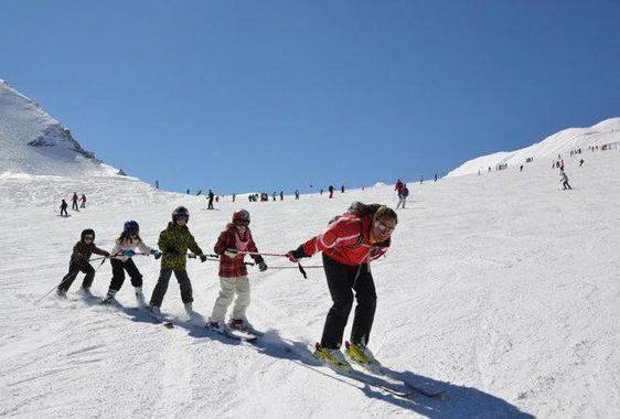 Ski Lessons for Kids (from 5 years) - Intermediate