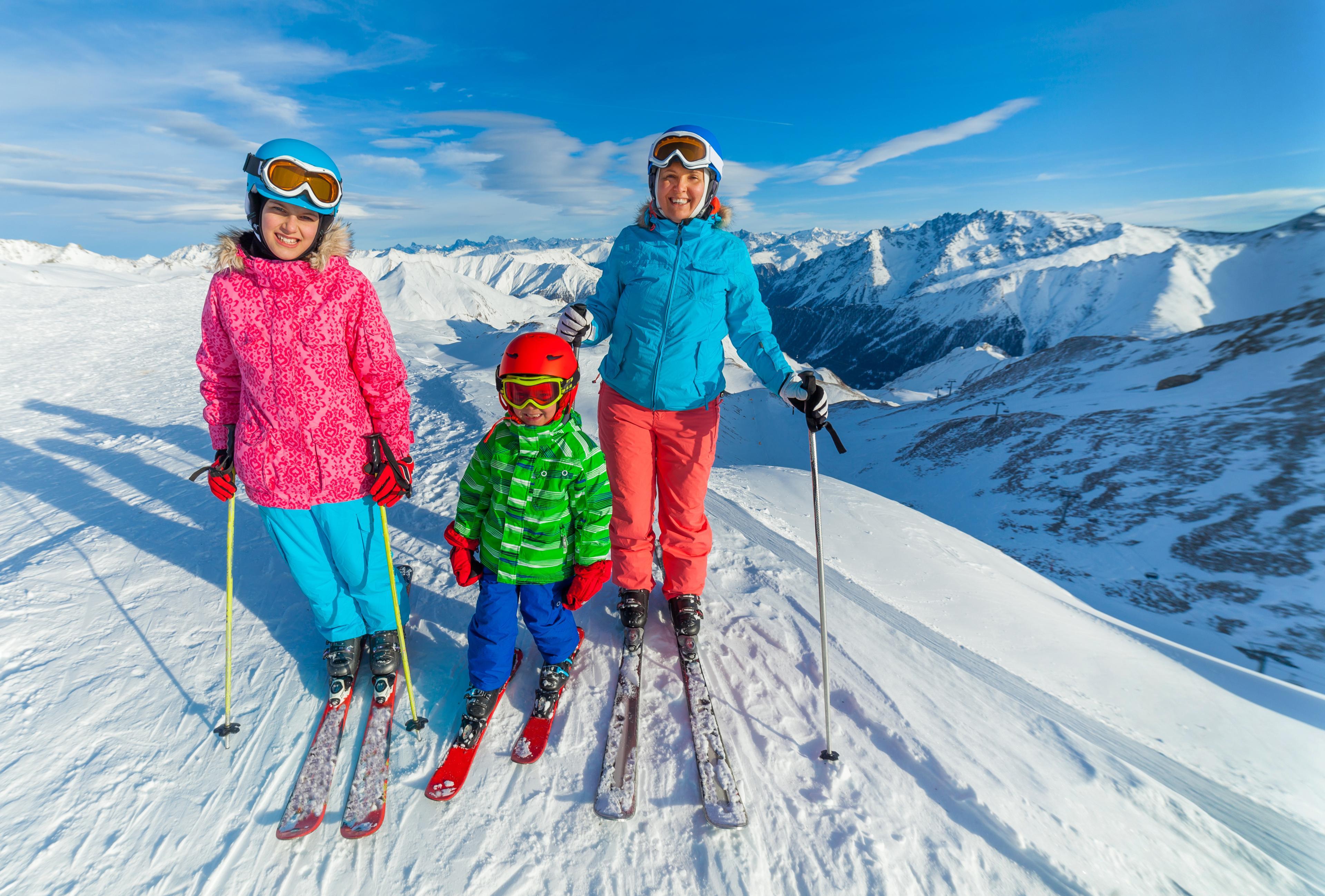 Ski Lessons for Families - Kaprun - All Levels