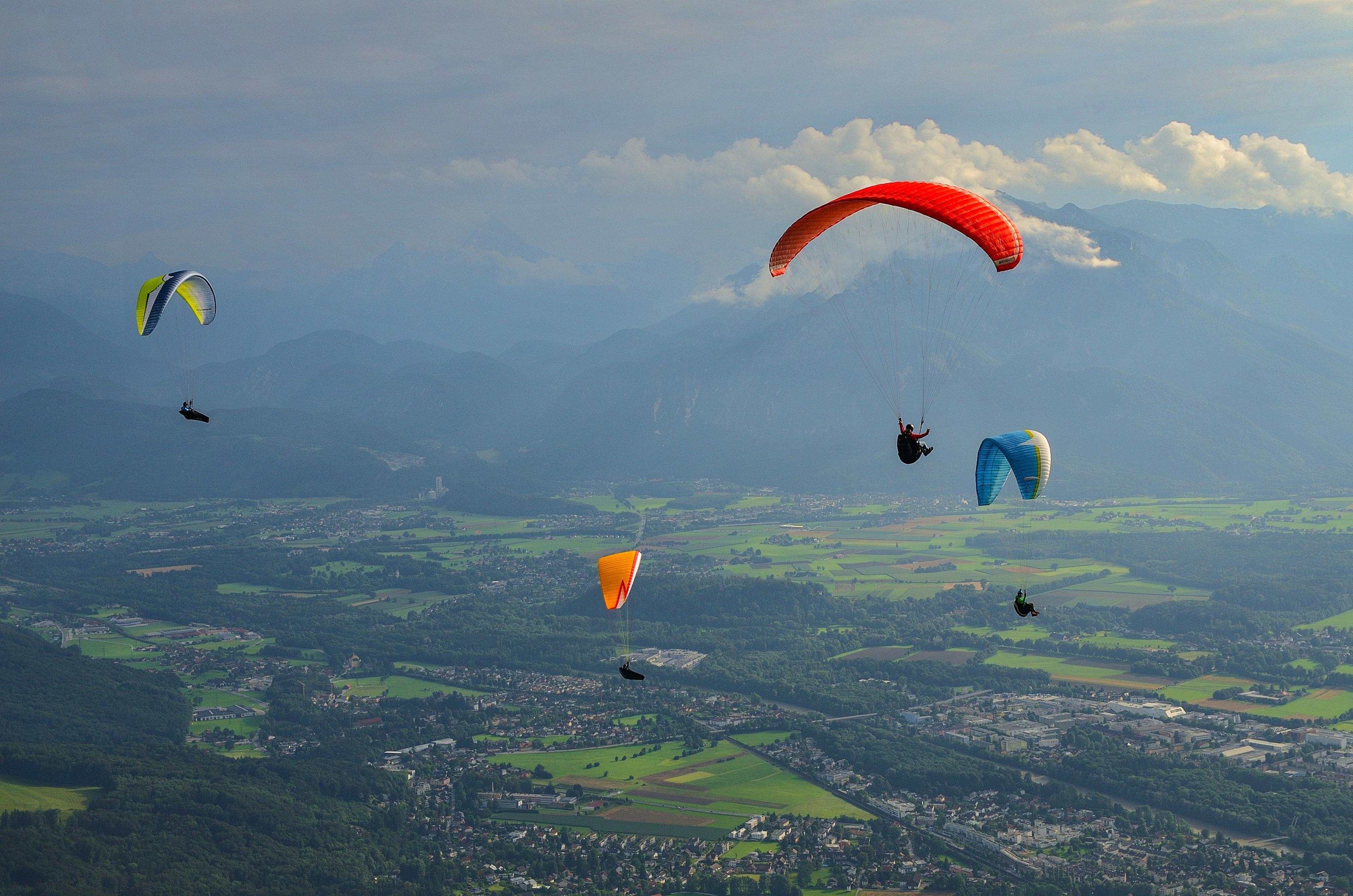 Paragliding Salzburg: Top Tandem Paragliding Flights