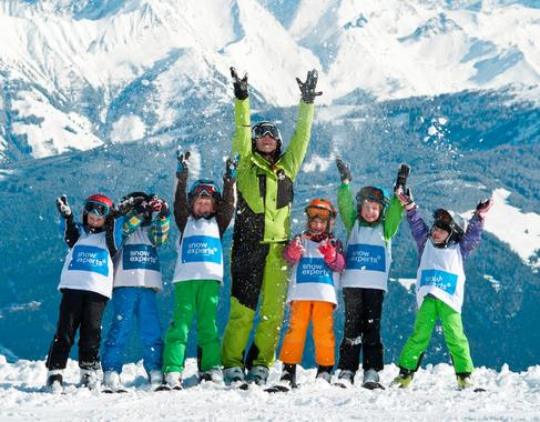 Childrens' skiing course for intermediates (5 - 14 years)