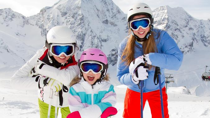 Private lesson for skiers