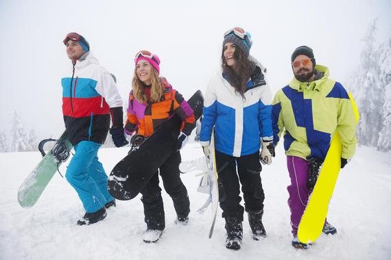 Snowboarding with your private coach