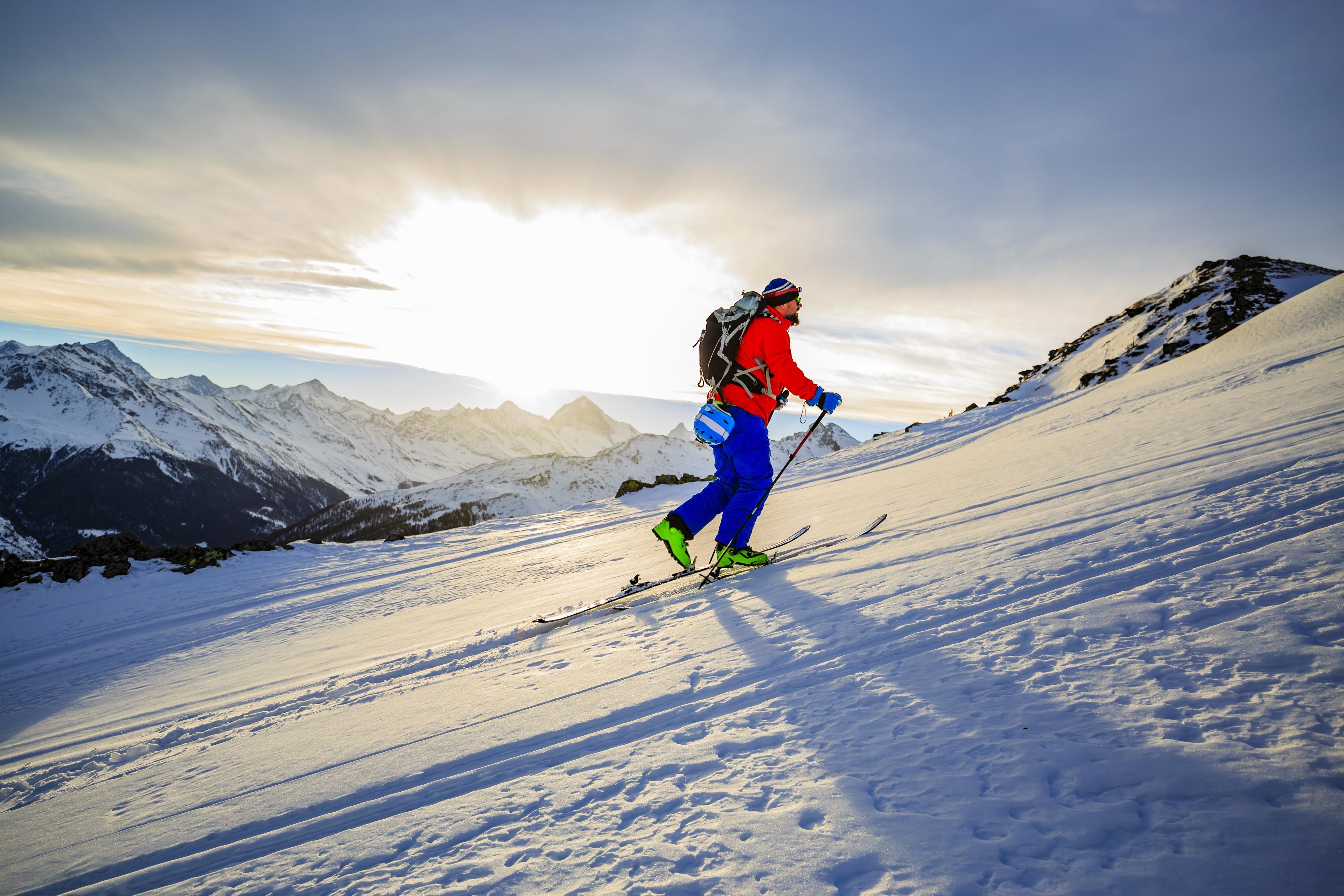 Intermediate Ski Tour Rochnachgeier 2215m