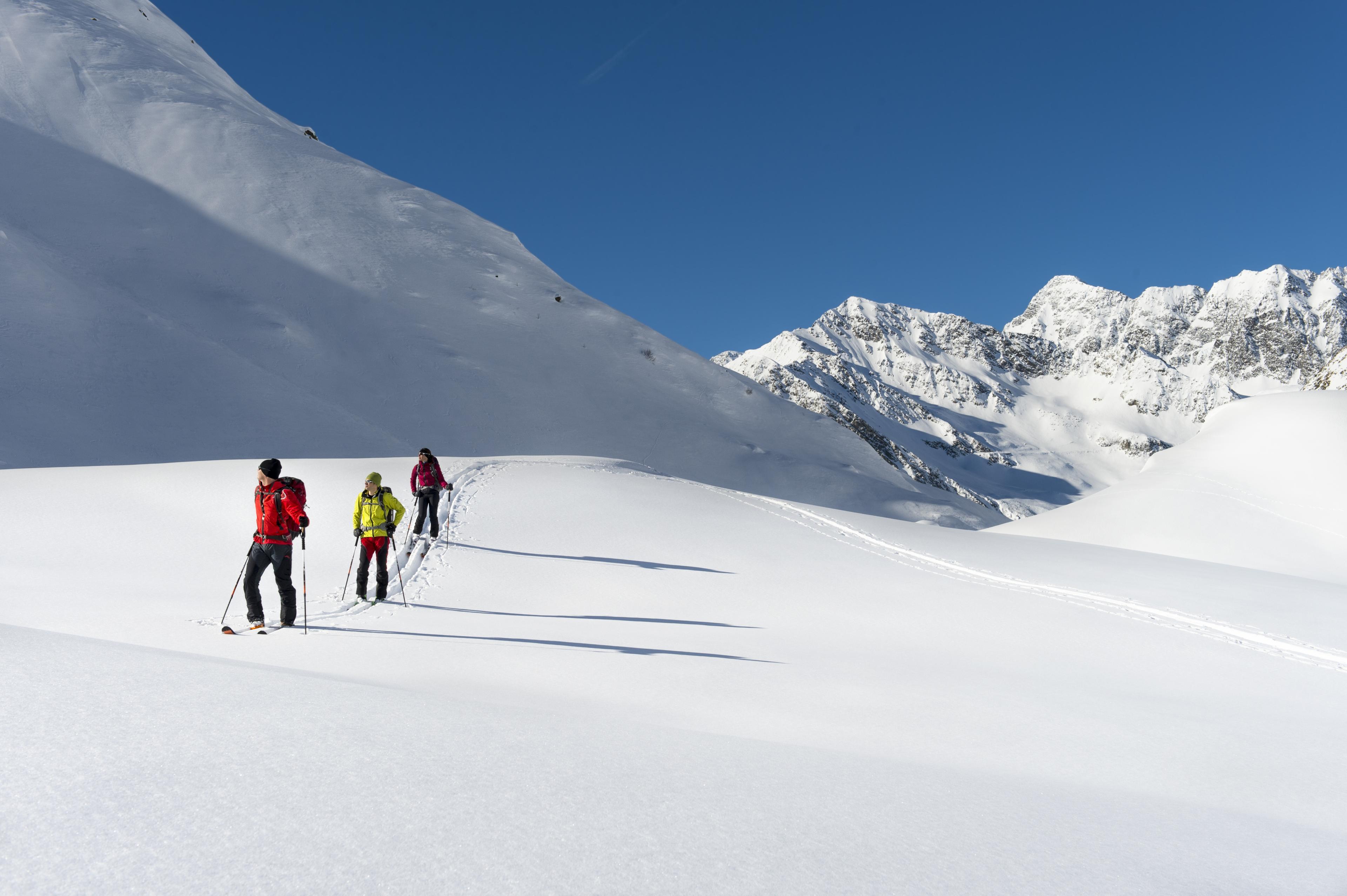 Beginners Ski Tour Plattenkogel 2039m