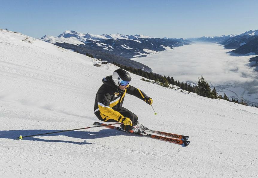 Ski Lessons for Adults - Advanced