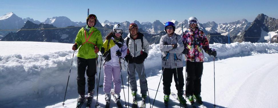 Ski Lessons for Teens & Adults - Afternoon - All Levels
