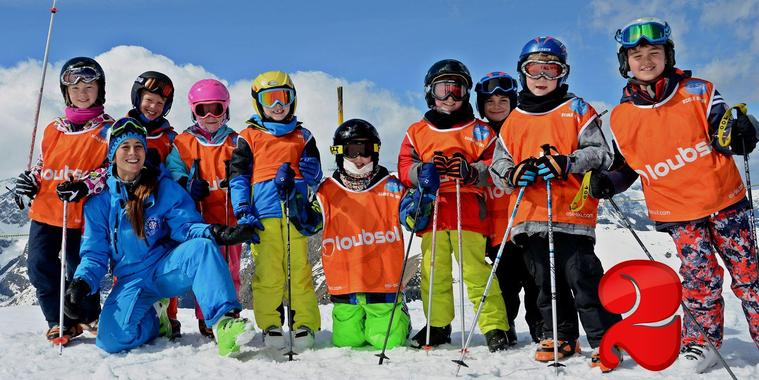 Ski Lessons for Kids (6-12 years) - Morning - Beginner