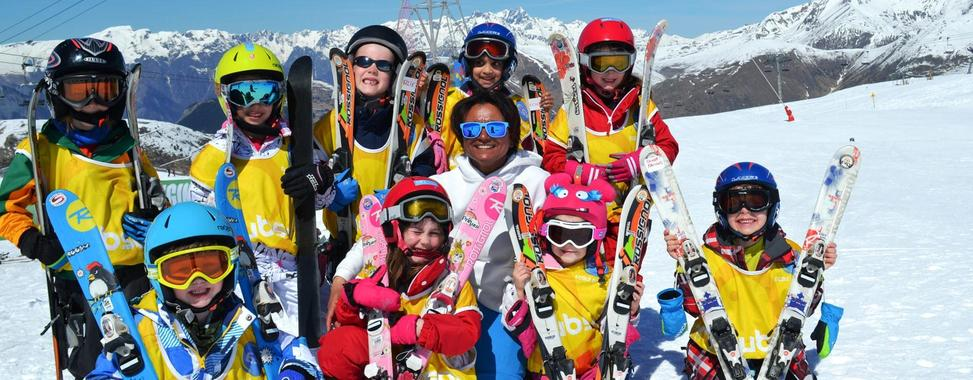 Ski Lessons for Kids (4-5 years) - Afternoon - Beginner