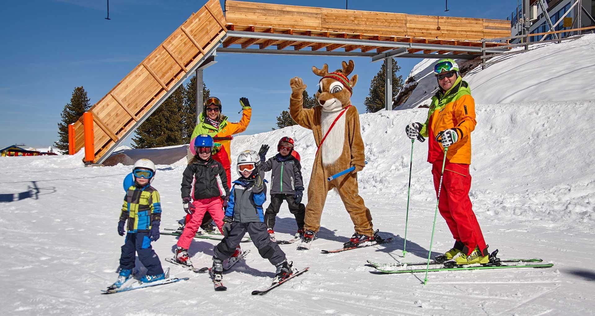 Ski classes for kids (group)