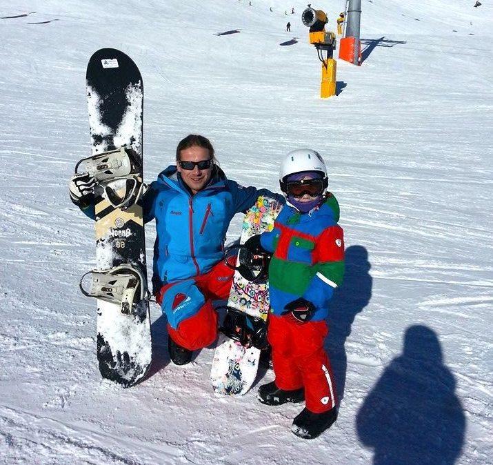 Snowboard Instructor Private for Kids -Obergurgl-Hochgurgl